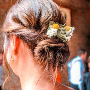 bloemen roels haarstukje