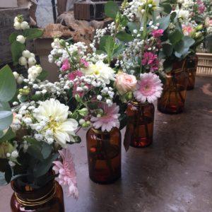 bloemen roels zaaldecoratie tadeldecoratie