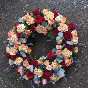 bloemen roels grafstuk